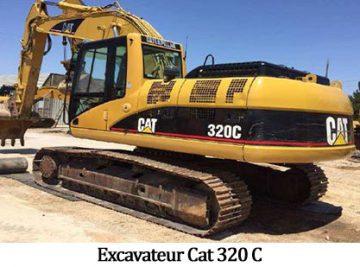 Excavateur Cat 320 C