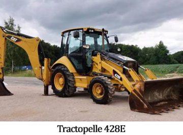 Tractopelle 428E